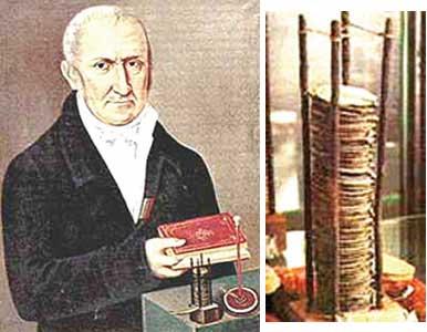 alessandro volta 1745 1827 erfinder der elektrischen batterie. Black Bedroom Furniture Sets. Home Design Ideas