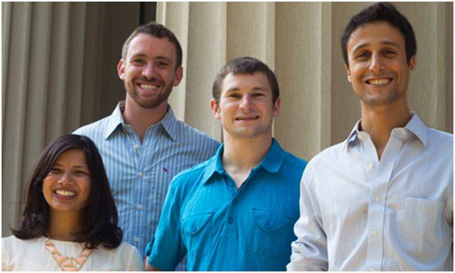 Das schöpferische Team des Wristify-Armbands - Stromaggregate INMESOL