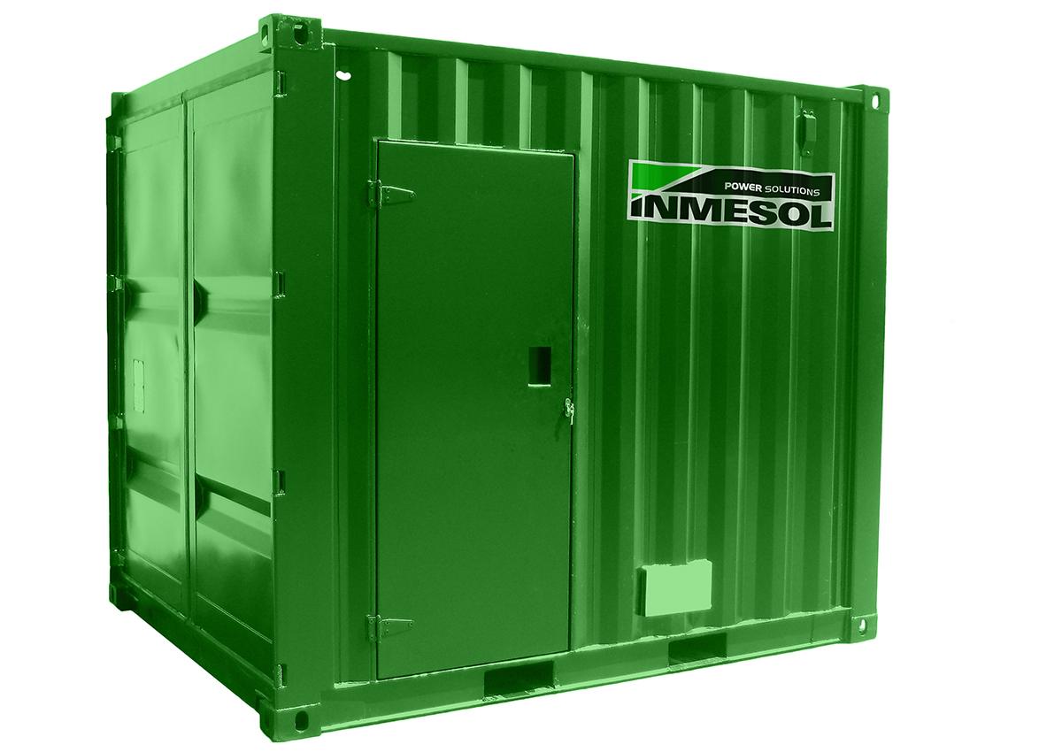 10-Fuß-Container Gehäuse für unseren 30 KVA Stromaggregate