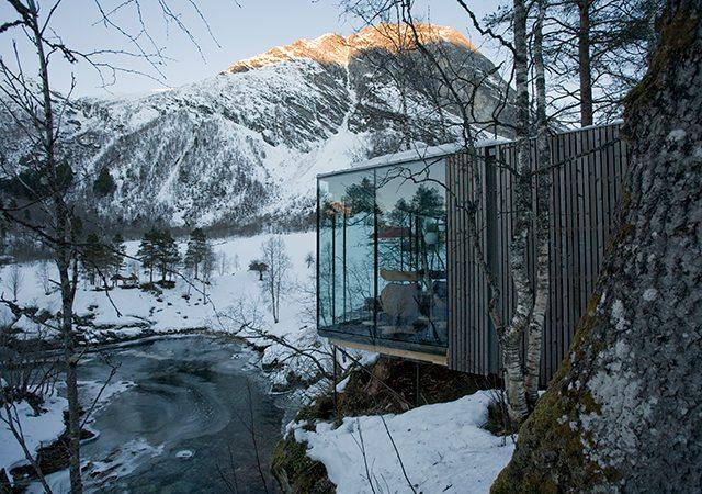 Bild von ©Knut Bry aus der Website von Juvet Hotel