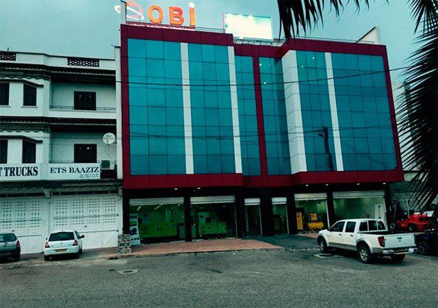 Der neue Hauptsitz von Sarl Obi in Algier