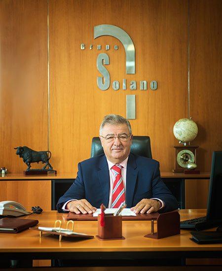 José Luis Solano, Gründer und Präsident der Grupo Solano