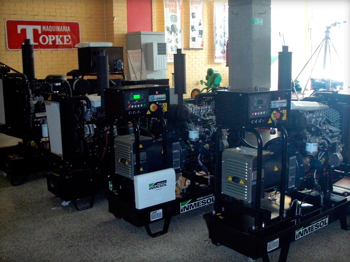Stromaggeräte in offener Version mit digitaler Steuerung