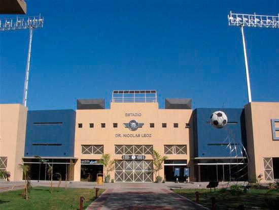 """Außenansicht des Stadions """"Dr. Nicolás Leoz"""". Foto ist aus der Website des Clubs Libertad entnommen worden"""
