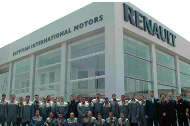 EIM ist der exklusive Alleinimporteur, der offiziell für Renault in Ägypten seit 1979 zuständig ist
