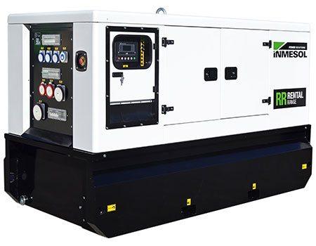 Miet-Geräte. Genset, ausgestattet mit einem FPT-IVECO Motor, Modell IIR-066