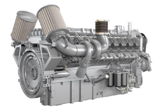 Informationsgrafik zu der neuen 2000 Motoren Serie