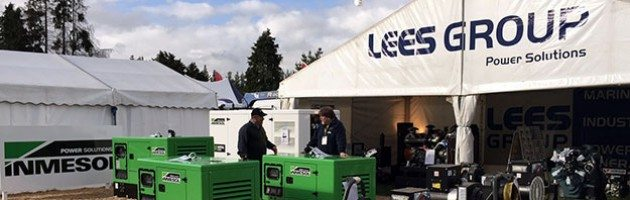Der Stand von LEES GROUP Power Solutions auf den National Agricultural Fieldays