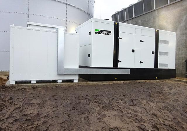 INMESOL IV700 Geräte bei einem Logistikzentrum für Milchprodukte in Niedersachsen, Deutschland installiert
