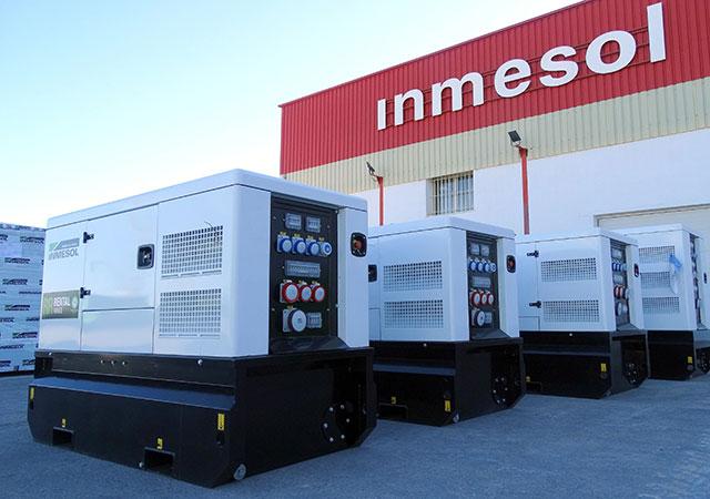 INMESOL Miet-Geräte Stromaggregat