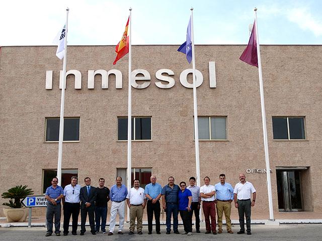 Distributoren aus Lateinamerika, technisches und kaufmännisches Team, sowie der INMESOL-Vorstand
