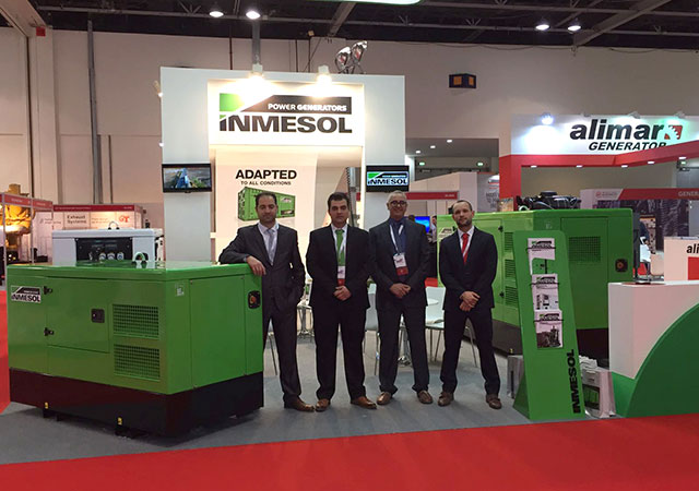 Inmesol Delegation auf dem Middle East Electricity Fair 2017