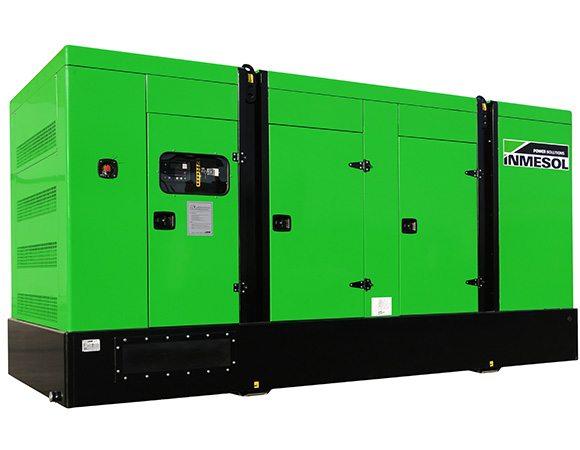 Palette der Stromaggregat-Modelle IV-730 (50 Hz), IV-760 (60 Hz), IV-770 (50 Hz), IV-800 (60 Hz)