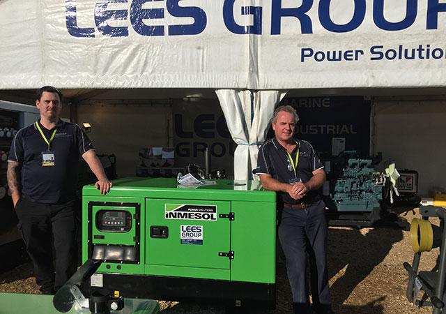 Das technische und kaufmännische Team von LEES GROUP Power Solutions