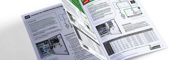 INMESOLS NEUER KATALOG AUTOMATISCHER UND AMF- ATS-SCHALTTAFELN für Stromaggregate