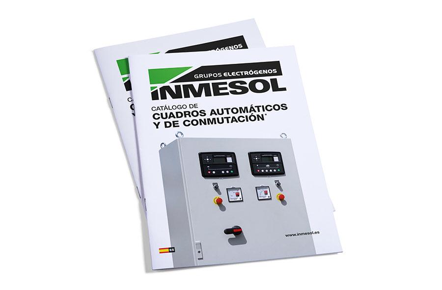 INMESOLs automatischer und AMF / ATS-Schalttafel-Katalog
